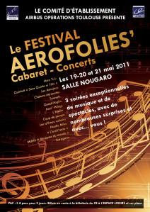 Affiche AEROFOLIES 2011