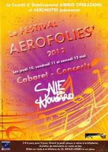 Affiche AEROFOLIES 2012